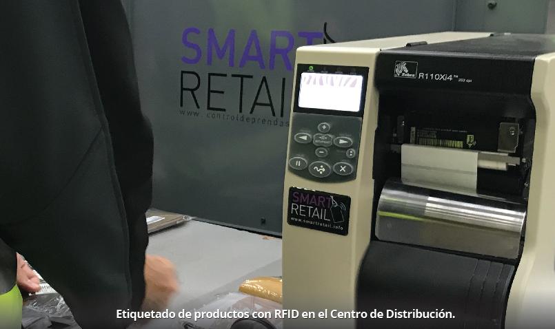 Impresora Zebra RFID