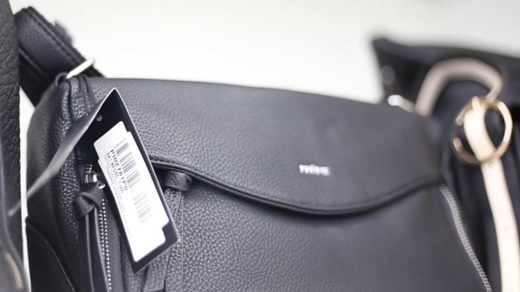 Cartera Prüne con etiqueta RFID