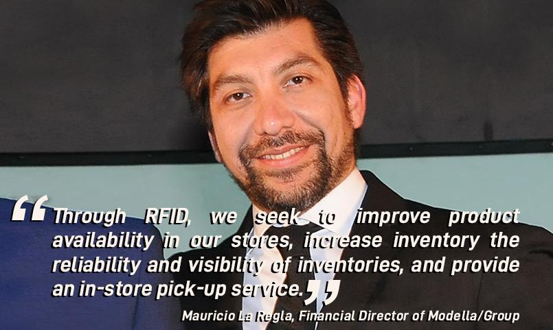 Mauricio La Regla, RFID Modella Group