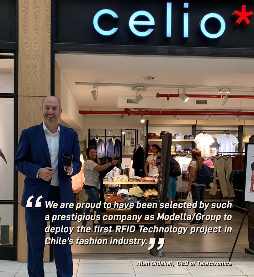Alan Gidekel - Modella Group - RFID CELIO